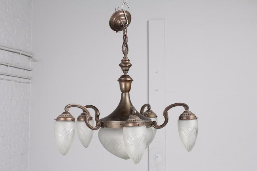 Art deco chandelier lighting belgium antique exporters aloadofball Choice Image