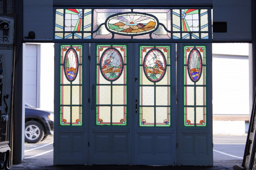 Art Deco Stained Glass Doors Door Search Items European