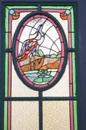 Art Deco Stained glass doors