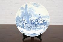 Plate Delft Holland pottery 1940