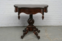 Gametable Louis Philippe Belgium Rosewood 1870
