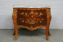Chest of drawers Louis XV France Walnut 1900