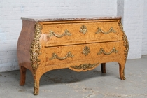 Chest of drawers Louis XV France Walnut 1920