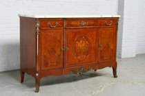 Sideboard Louis XV France Walnut 1890