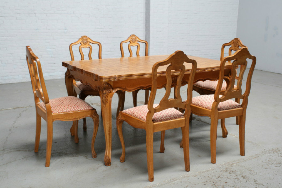 Superb Louis Xv Table Chairs Spiritservingveterans Wood Chair Design Ideas Spiritservingveteransorg