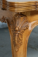 Louis XV Table + chairs