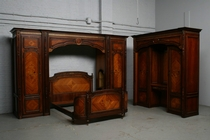 Bedroom set Louis XVI France Mahogany 1960