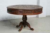Center table Renaissance France Walnut 1890