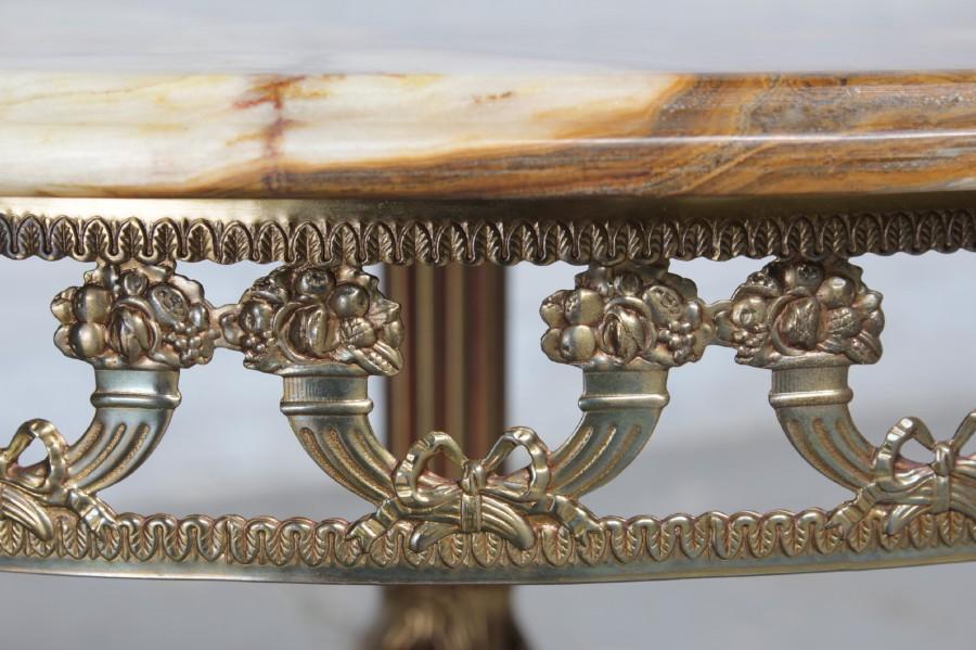 Rococo Side Table Small Furniture Belgium Antique Exporters - Rococo side table